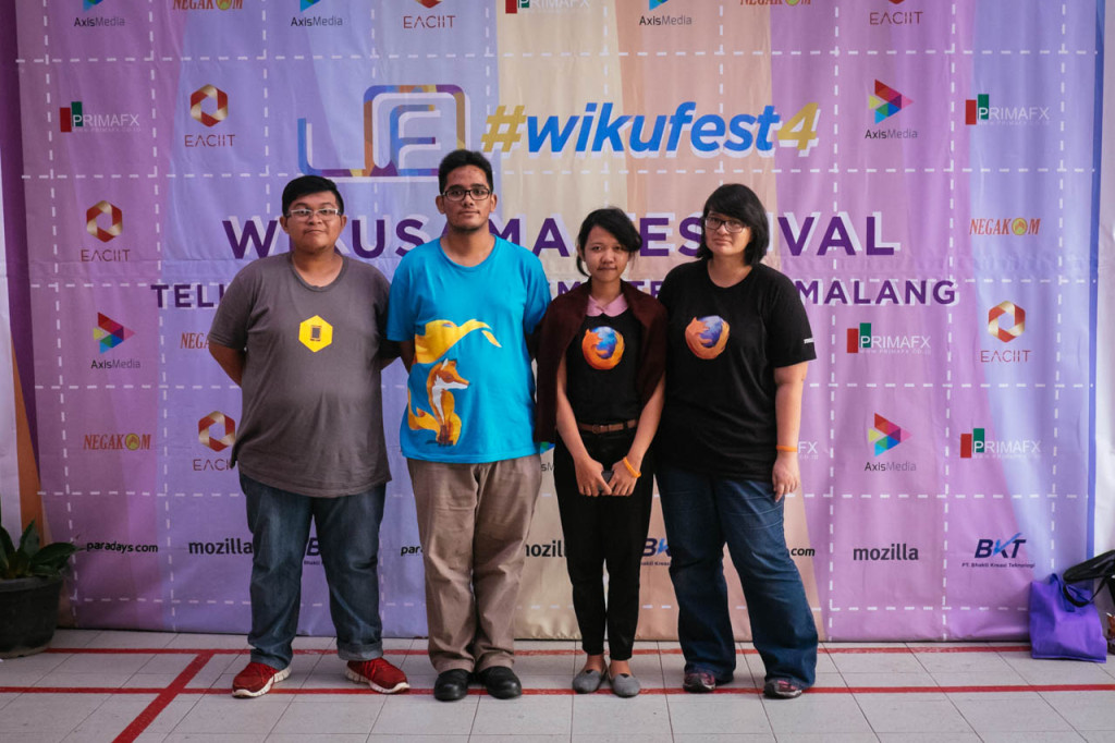 Mozilla Indonesia at #WikuFest4