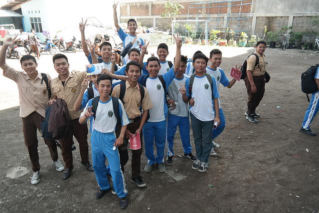Students from SMK Assalaam - Kab. Bandung